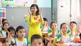 Cô Nguyễn Thị Đan Thùy, giáo viên Trường Tiểu học Nguyễn Bá Ngọc (quận Bình Thạnh). Ảnh: HOÀNG HÙNG