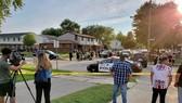 Cảnh sát phong tỏa hiện trường vụ nổ súng. Ảnh: kenoshanews.com