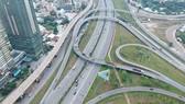 Hệ thống giao thông liên hoàn tại phường An Phú, TP Thủ Đức, TPHCM. Ảnh: CAO THĂNG