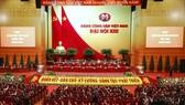 Toàn cảnh phiên họp trù bị Đại XIII của Đảng, sáng 25-1, tại Trung tâm Hội nghị quốc gia. Ảnh: VIẾT CHUNG