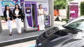 Một trạm sạc ô tô điện tại Thái Lan
