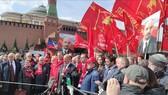 Đồng chí Gennady Zyuganov, Chủ tịch Ban Chấp hành Trung ương Đảng Cộng sản LB Nga phát biểu tại buổi lễ