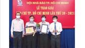 Báo SGGP đoạt 8 giải Báo chí TPHCM năm 2021