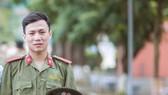 Trung úy Nguyễn Văn Chiến khi còn là sinh viên Học viện An ninh nhân dân. Ảnh: CAND