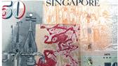 Bức tranh Two gibbons của cố họa sĩ Singapore Chen Wen Hsi được đưa vào tiền giấy 50 SGD