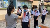 Các trường học tăng cường công tác phòng, chống dịch Covid-19. Ảnh minh họa
