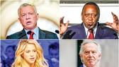 Một số nhân vật trong Hồ sơ Pandora: Quốc vương Jordan Abdullah II, Tổng thống Uhuru Kenyatta, ca sĩ Colombia Shakira và cựu Thủ tướng Anh Tony Blair (trái sang phải, trên xuống dưới)