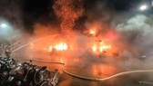 Vụ hỏa hoạn nghiêm trọng xảy ra vào rạng sáng 14-10, tại Đài Loan