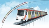 LRT (Light Rail Transit) illustration. (Photo: TEMPO/Indra Fauzi)