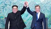 Moon says is seeking to establish 'irreversible' peace on Korean Peninsula