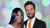 Serena Williams và vị hôn phu Alexis Ohanian