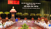 Khai mạc Hội nghị lần thứ 11, Ban Chấp hành Đảng bộ TPHCM khóa X