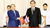 Thủ tướng Thái Lan Prayut Chan-o-cha đón và hội đàm với Thủ tướng Nguyễn Xuân Phúc sang thăm chính thức Vương quốc Thái Lan