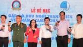 c đại biểu tham dự lễ bế mạc chương trình Gặp gỡ hữu nghị Thanh niên Việt Nam - Campuchia năm 2017 (Nguồn: hcmcpv)
