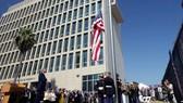 Đại sứ quán Mỹ ở Havana, Cuba, mở cửa hoạt động lại từ ngày 14-8-2015 (Nguồn: AP)