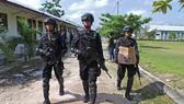 Cảnh sát chống khủng bố Indonesia (nguồn: ANTARA)
