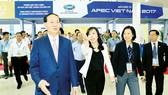 Chủ tịch nước Trần Đại Quang duyệt các hoạt động của Tuần lễ Cấp cao APEC 2017