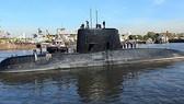Tàu ngầm Argentina ARA San Juan lúc chưa bị mất tích. Ảnh: REUTERS