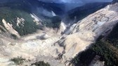 Trận động đất đã khiến nhiều khu vực bị sạt lở nghiêm trọng. Ảnh: REUTERS
