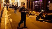 Cảnh sát phong tỏa hiện trường vụ tấn công khủng bố, ngày 12-5-2018. Ảnh: AP