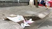 Phê bình 4 chủ tịch UBND phường vì để rác bịt miệng cống