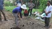 Khai quật thám sát khảo cổ học khu vực nhà thờ Trần Tịnh