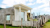 Một số hộ dân thôn Vĩnh Sơn đã di dời khi trước đây đã nhận đền bù
