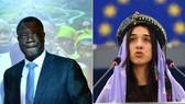 Bác sĩ Denis Mukwege và nhà hoạt động nhân quyền Nadia Murad đoạt giải Nobel Hòa bình 2018