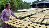 Làng chuối khô Trần Hợi vào cao điểm phục vụ tết