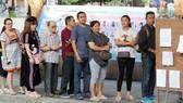 Một điểm bỏ phiếu tại thủ đô Bangkok