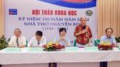 Hội thảo khoa học kỷ niệm 100 năm năm sinh nhà thơ Nguyễn Bính do Trường Đại học Văn Lang tổ chức