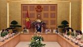 Phó Thủ tướng Vũ Đức Đam phát biểu tại buổi gặp mặt. Ảnh VGP/Nhật Bắc