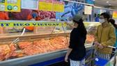 Giá thịt heo trên thị trường đã giảm nhẹ khi có sự cam kết giảm giá của các doanh nghiệp chăn nuôi