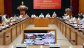 Hôm nay, tổ chức Hội nghị Thành ủy TPHCM theo hình thức trực tuyến