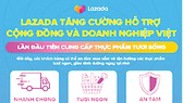 Lazada Việt Nam tiên phong hỗ trợ cộng đồng và doanh nghiệp Việt