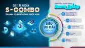 """S-COMBO - gói tài khoản thanh toán """"không giới hạn"""" dành riêng cho doanh nghiệp tại SCB"""