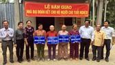 Từ tháng 5-2020, mức hỗ trợ xây dựng nhà đại đoàn kết cho hộ nghèo lên 40 triệu đồng/căn. Ảnh: travinh.gov.vn