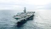 Tàu sân bay Mỹ USS Ronald Reagan trở lại khu vực Ấn Độ Dương - Thái Bình Dương