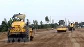 Giải phóng mặt bằng dự án cao tốc Bắc - Nam. Nguồn: TTXVN
