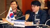 Diễn đàn Đối thoại Quốc phòng Seoul ngày 4-9-2019. Ảnh: YONHAP/TTXVN