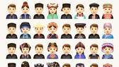 Hình ảnh bộ emoji các dân tộc anh em