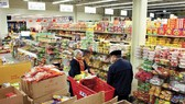 Một siêu thị có bán hàng Việt Nam tại Mỹ. Ảnh minh họa