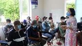 Một buổi tư vấn hỗ trợ cai nghiện ma túy ở cộng đồng tại huyện Long Điền, tỉnh Bà Rịa - Vũng Tàu