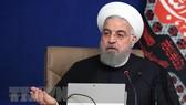 Tổng thống Iran Hassan Rouhani phát biểu tại cuộc họp nội các ở Tehran. Ảnh: TTXVN