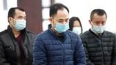 Bị cáo Lê Xuân Giang, cựu Chủ tịch HĐQT Công ty Liên Kết Việt trong phiên xét xử ngày 24-12. Ảnh: TTX