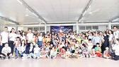 Đoàn thiện nguyện SCB tại mái ấm Hoa Hồng