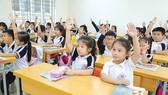 Học sinh lớp 1 Trường Tiểu học Phương Mai, quận Đống Đa, Hà Nội, trong giờ học môn Tiếng Việt. Ảnh: VIẾT CHUNG