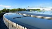 Một nhà máy xử lý nước thải tại Anh