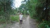 Đất gia đình bà Dung cho đi nhờ giờ thành đường công cộng