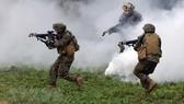 Lực lượng Mỹ trong cuộc tập trận. Nguồn: TTXVN